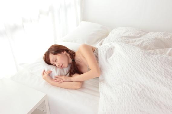 不眠・安眠のイメージ写真